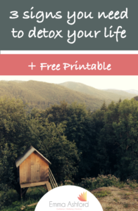 photograph relating to Printable Quiet Signs called 3 Indications Your self Have to have In the direction of Detox Your Everyday living + Absolutely free PRINTABLE - Emma
